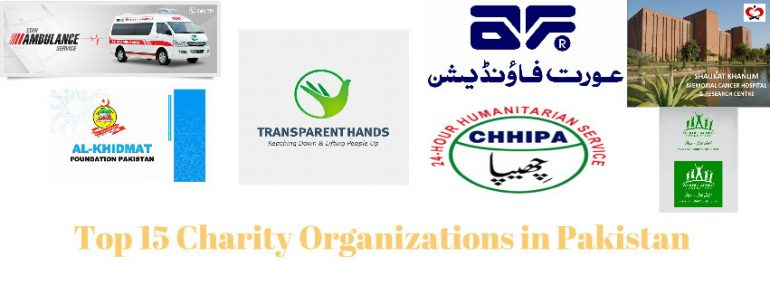 List of Top 15 Charity Organizations in Pakistan