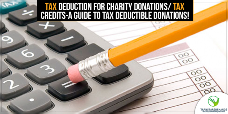 Tax Credits - A Guide to Tax Deductible Donations - TH
