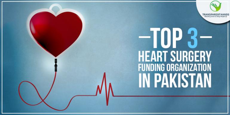 Top 3 Heart Surgery Funding Organizations in Pakistan