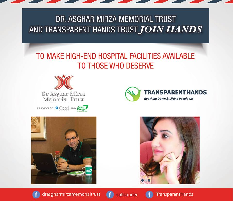 Collaboration with Dr. Asghar Mirza Memorial Trust