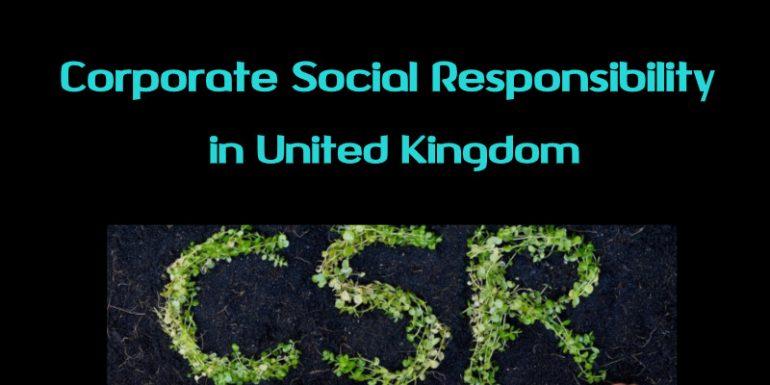 Corporate social responsibility in UK