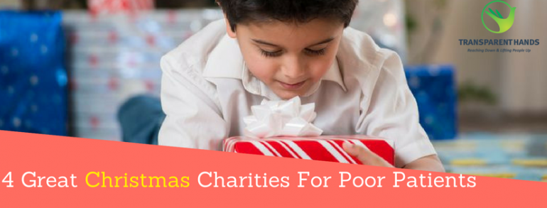 4 Great Christmas Charities for poor patients