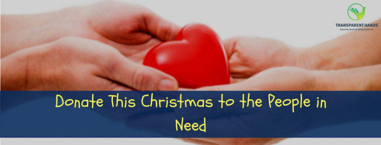 Donations This Christmas to the People in Need