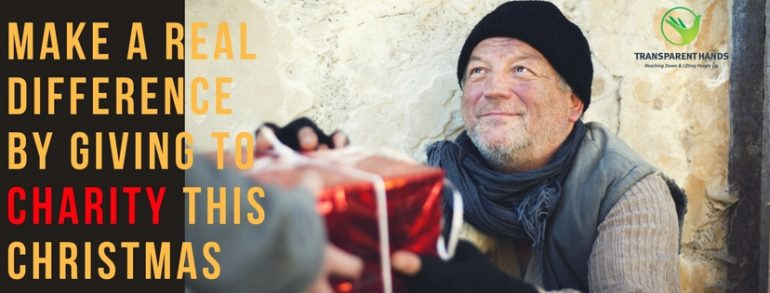 Make a Real Difference by Giving to Charity This Christmas
