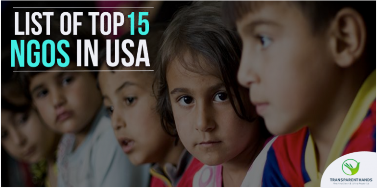 List of Top 15 NGO's in USA