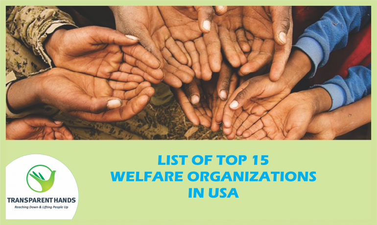 List of Top 15 Welfare Organizations in the USA