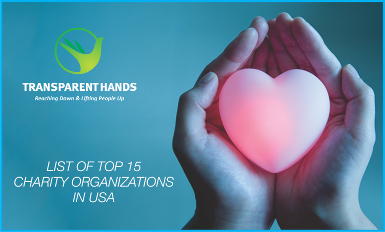 List Of Top 15 Charity Organizations In USA
