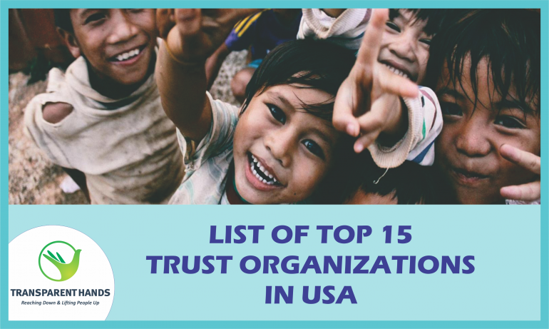 List of top 15 Trust Organizations in USA