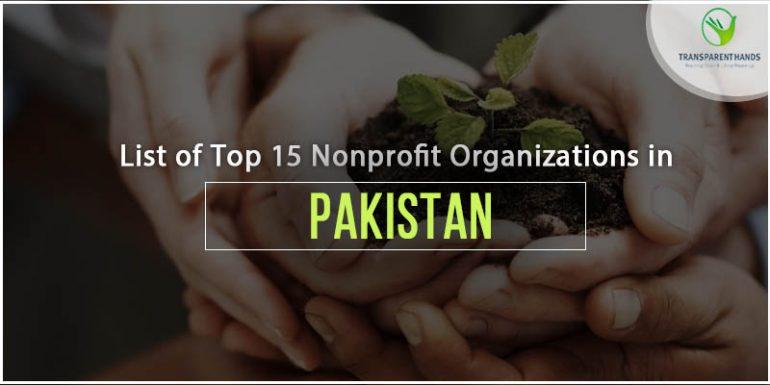 List of Top 15 NonProfit Organizations in Pakistan