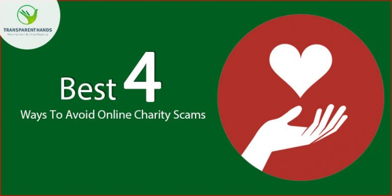 Best 4 Ways to Avoid Online Charity Scams
