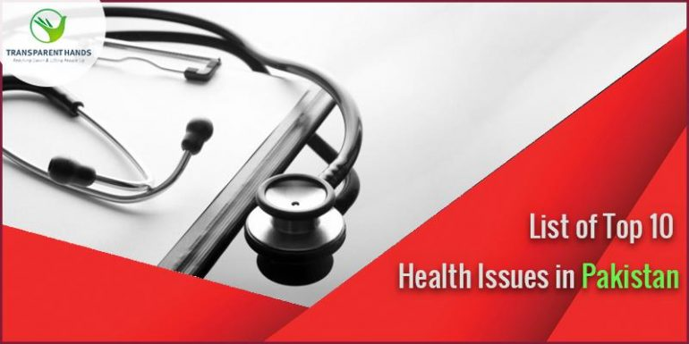 health issues in pakistan In pakistan, as more widely throughout south asia, non-communicable diseases like cancer, diabetes and heart problems have replaced communicable diseases like malaria and diarrhoea in the past two decades as the leading causes of death and morbidity.