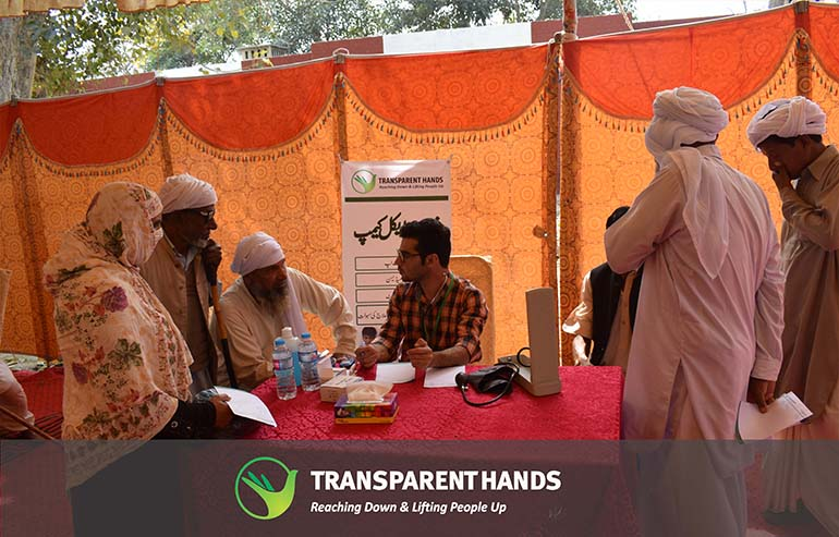 Free Medical Camp in Pakpattan in collaboration with Hope Uplift Foundation