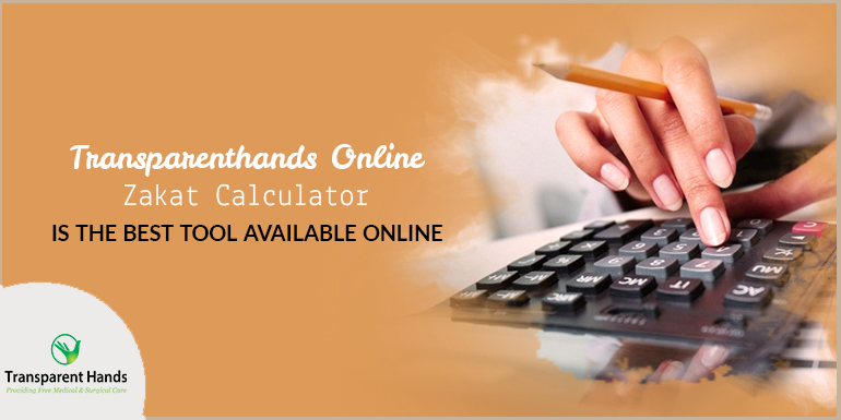 TransparentHands Online Zakat Calculator is the best tool available online