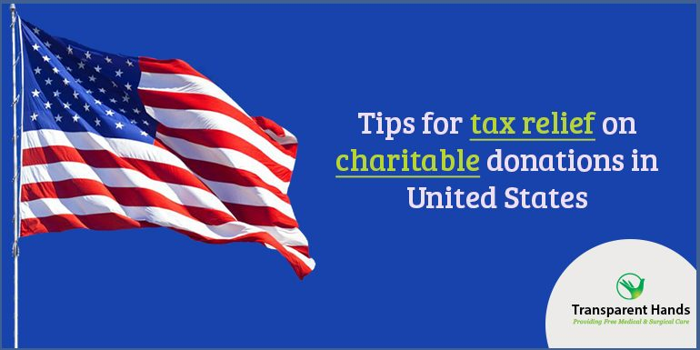 Tips for Tax Relief on Charitable Donations in United States