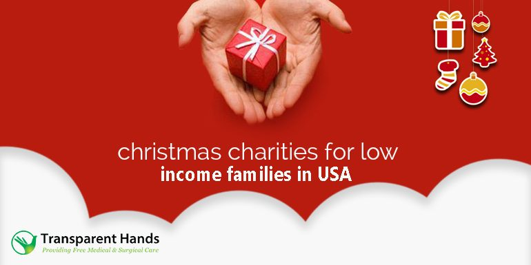 Christmas Charities for Low-Income Families in USA