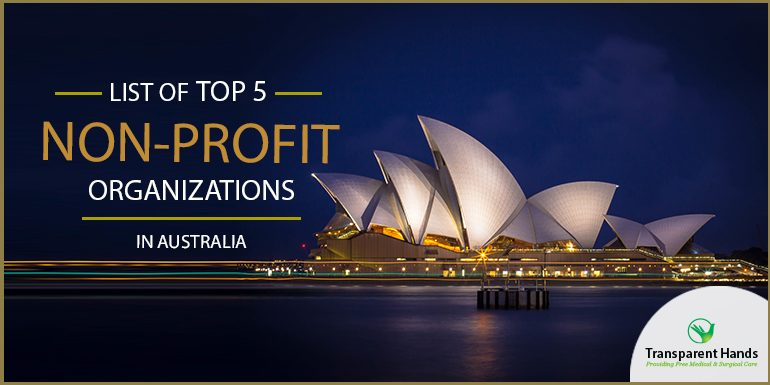 List of Top 5 Non-Profit Organizations in Australia