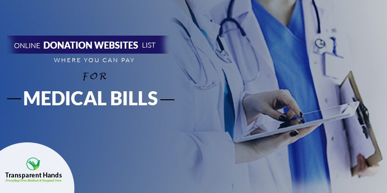 Online Donation Websites List Where You Can Pay For Medical Bills