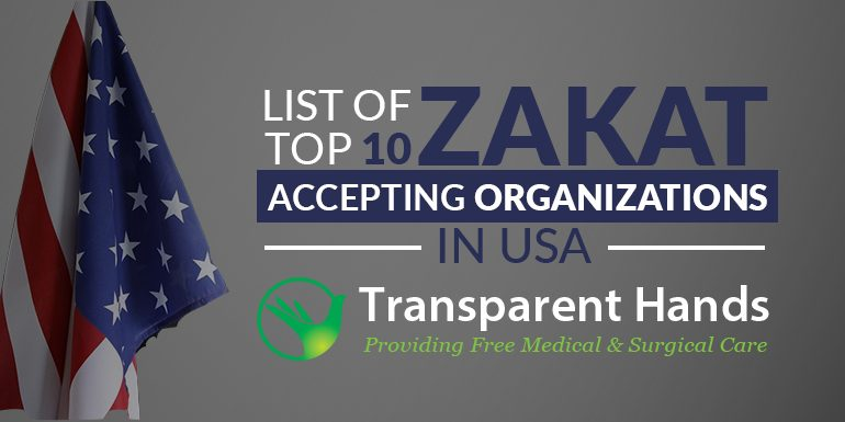 List of Top 10 Zakat Accepting Organizations in USA