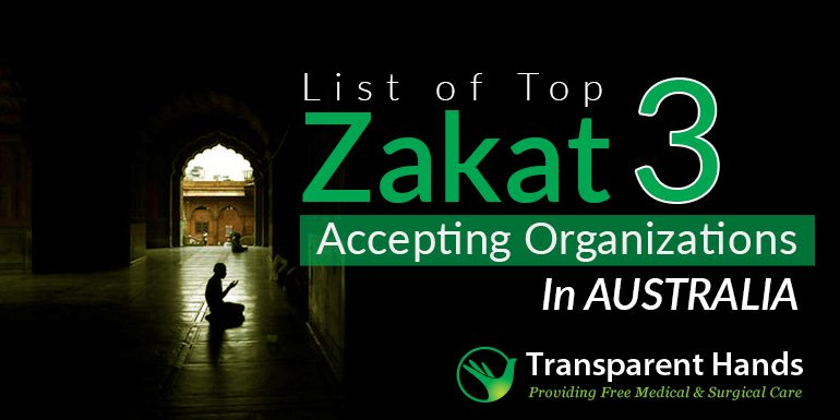 List of Top 3 Zakat Accepting Organizations in Australia
