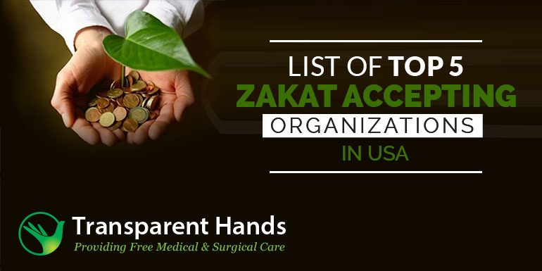 List of Top 5 Zakat Accepting Organizations in USA