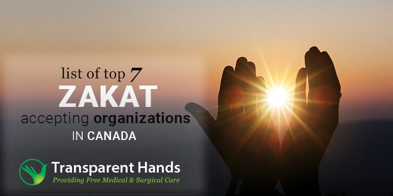 List of Top 7 Zakat Accepting Organizations in Canada