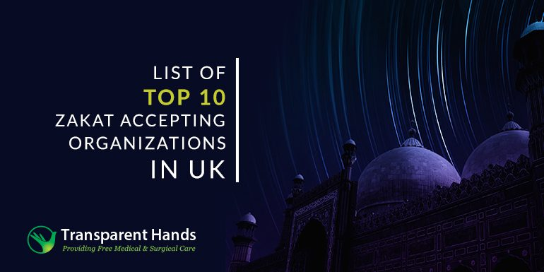 List of Top 10 Zakat Accepting Organizations in UK