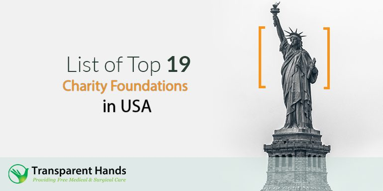 List of Top 19 Charity Foundations in USA