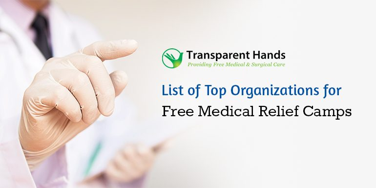 List of Top Organizations for Free Medical Relief Camps