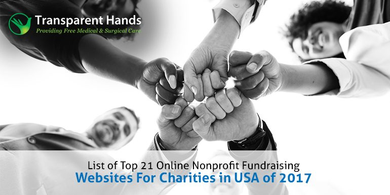 List of Top 21 Online Nonprofit Fundraising Websites for Charities in USA of 2017