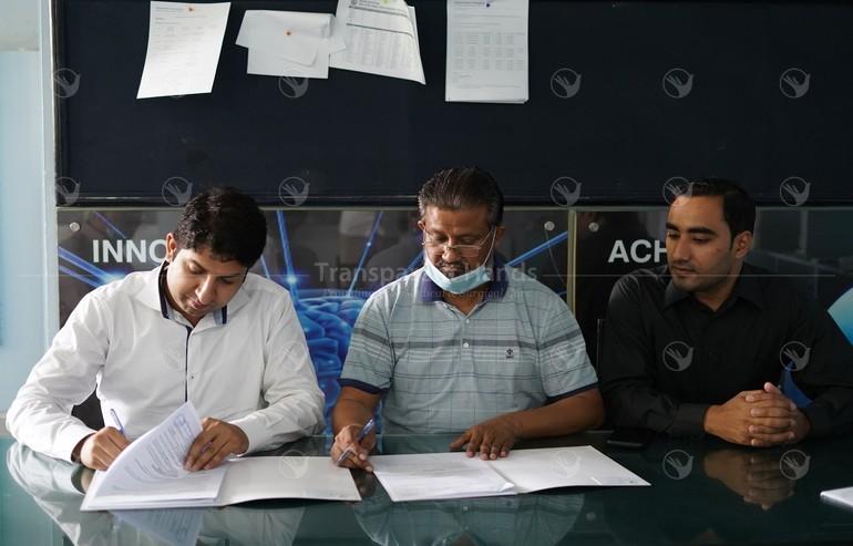 MOU signing by Raheel abbas